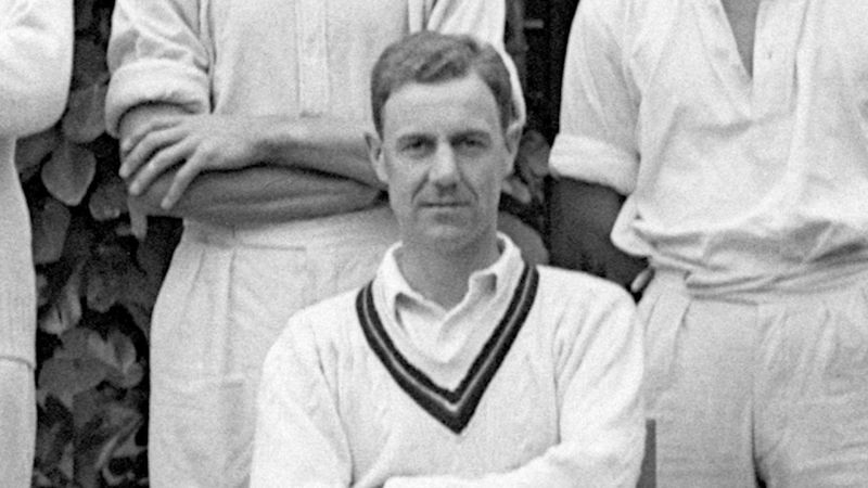 John Manners in Royal Navy cricket team photo cover photo