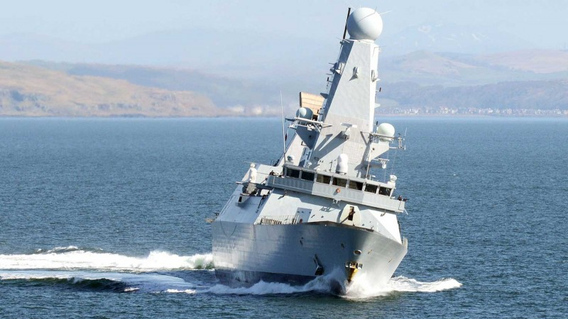 Royal Navy ship HMS Diamond 'breaks down' in Gulf