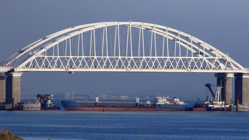 Kerch Strait bridge in Russia 251118