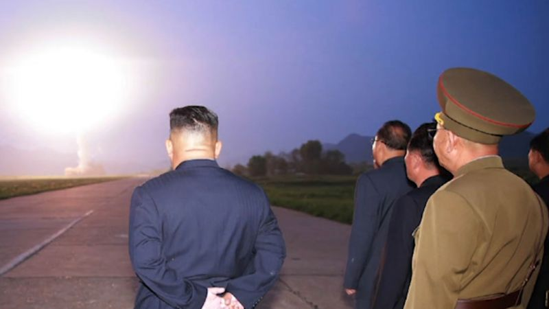Kim Jong Un watches August 2019 missile launches 070819 credit KCNA.jpg