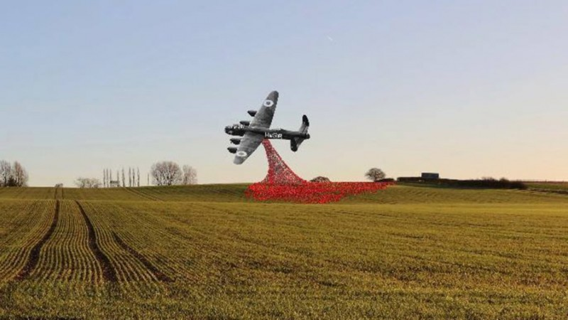 Giant Sculpture Of Lancaster Bomber Could Become Gateway
