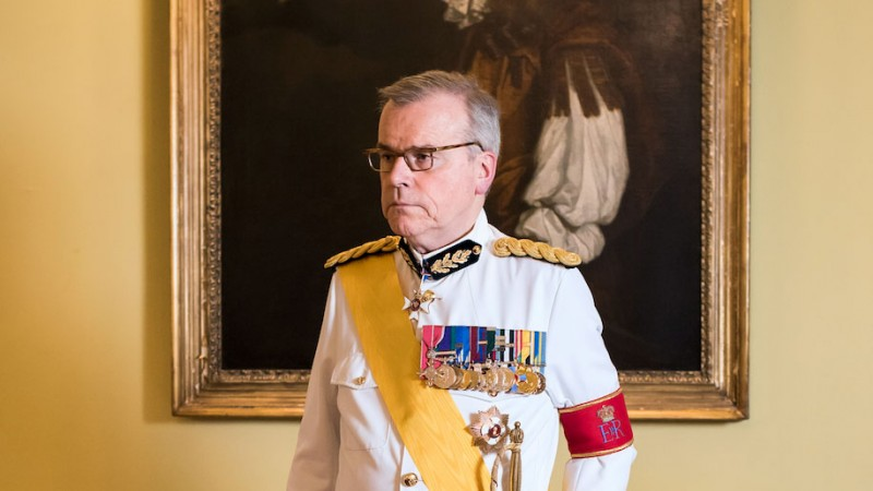 The Crown adviser Major David Rankin-Hunt, Forces Radio BFBS interview