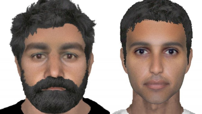 E-Fit Images Of Attempted RAF Abduction Suspects Released