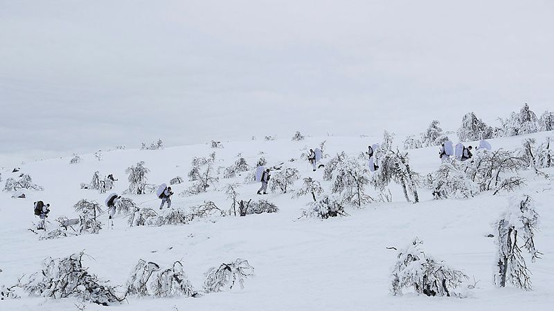 Norwegian Army Winter Exercise CREDIT Ministry of Defence of Norway