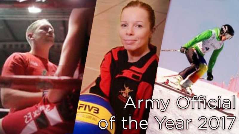 Army Sports Awards 2017: Official of the Year nominees