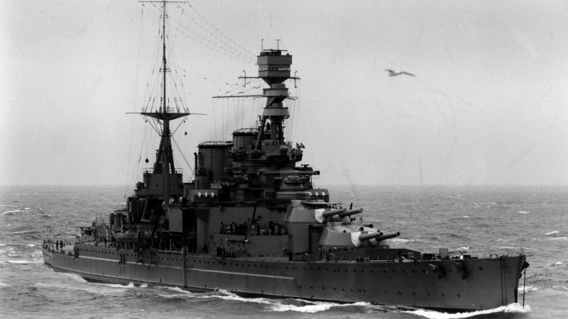 The wreck of HMS Repulse was reported to have been damaged or destroyed by thieves.