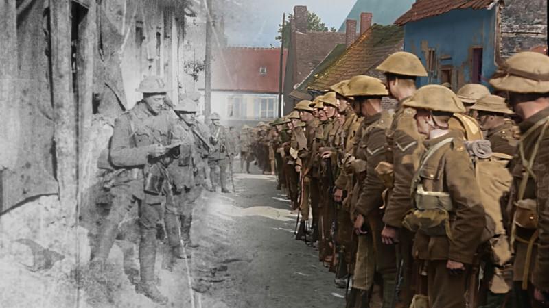 Peter Jackson's new WW1 film