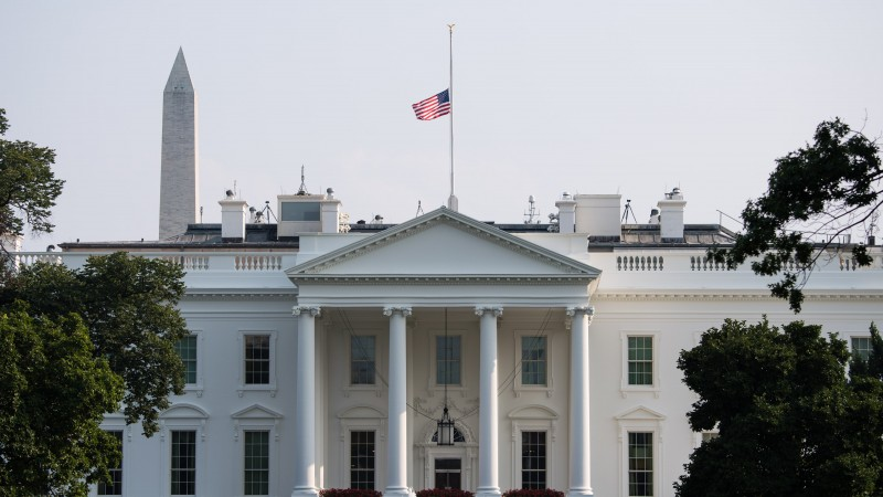 Super Us President Orders Flags To Be Lowered In John Mccain Download Free Architecture Designs Scobabritishbridgeorg
