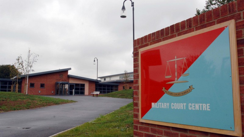 The court martial is taking place at Bulford Military Court (Picture: PA).