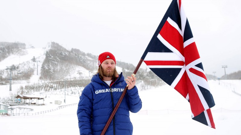 ParalympicsGB flagbearer & British Army veteran Owen Pick
