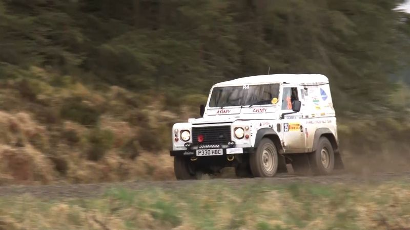 Rally Motor Credit >> Military Drivers Tackle Pirelli Rally In Cumbria