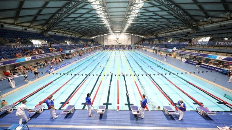 Ponds Forge in Sheffield during Invictus Games UK trials