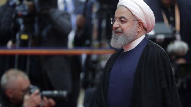 President of Iran Hassan Rouhani in June (Picture: PA).