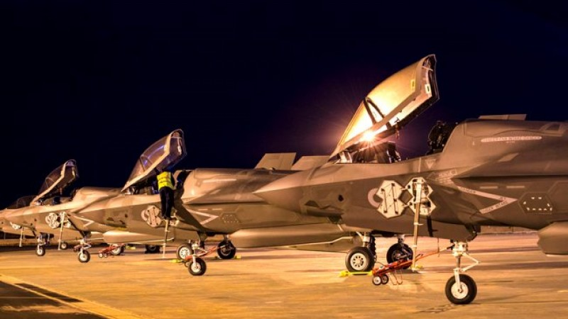 F-35Bs touch down at Marham