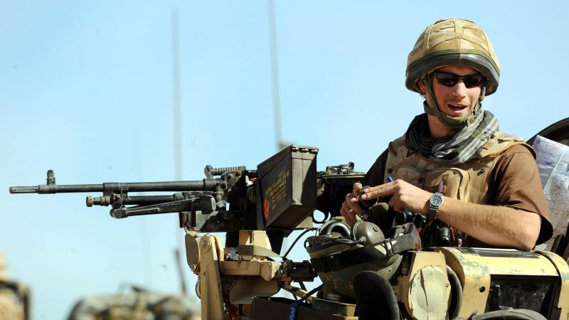 Prince Harry in a spartan armoured vehicle in Helmand Province in Southern Afghanistan, January 2008 (Picture: PA)