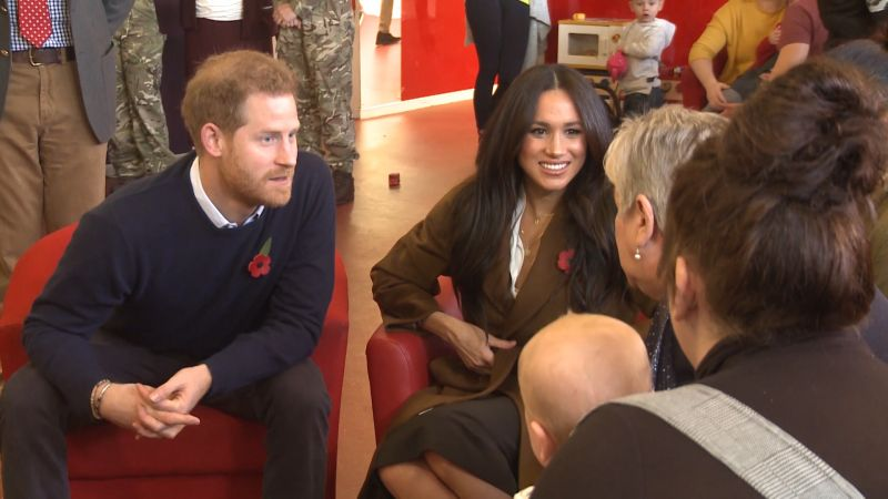 Prince Harry and Meghan surprise Army wives 061119 CREDIT BFBS