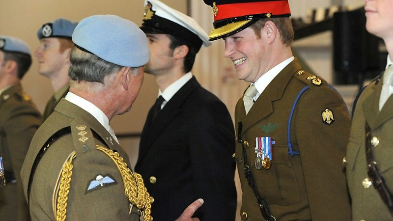 Prince Harry Awarded Flying Wings MoD