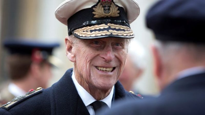 Prince Philip at Field of Remembrance service