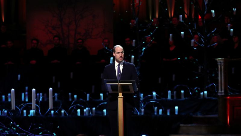 Prince William addresses Holocaust Memorial Day 2020 in London 270120 CREDIT REUTERS.jpg