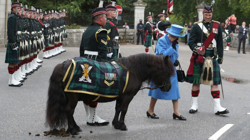 Queen with Cruachan 5 SCOTS 060818 CREDIT PA