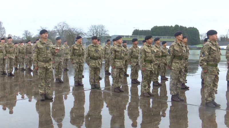 Queen's Gurkha Signals Welcome New Squadron