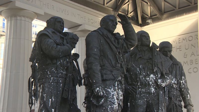 RAF Bomber Command memorial damage