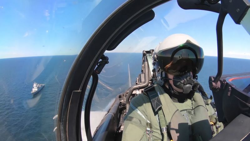 RAF Typhoon pilot NATO training in the Baltic Sea with SNMG1 190520 CREDIT RAF.jpg