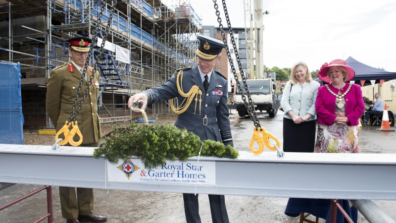 RSGH Anointing of the Beam with Air Chief Marshal Sir Stephen Hillier