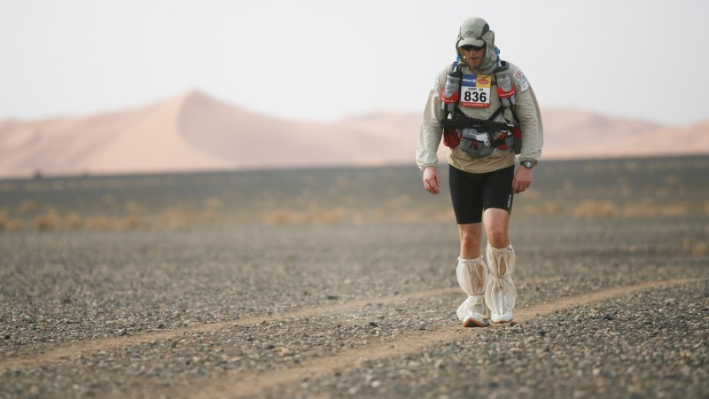 Ex-Army Major Runs North Pole Marathon For Help For Heroes