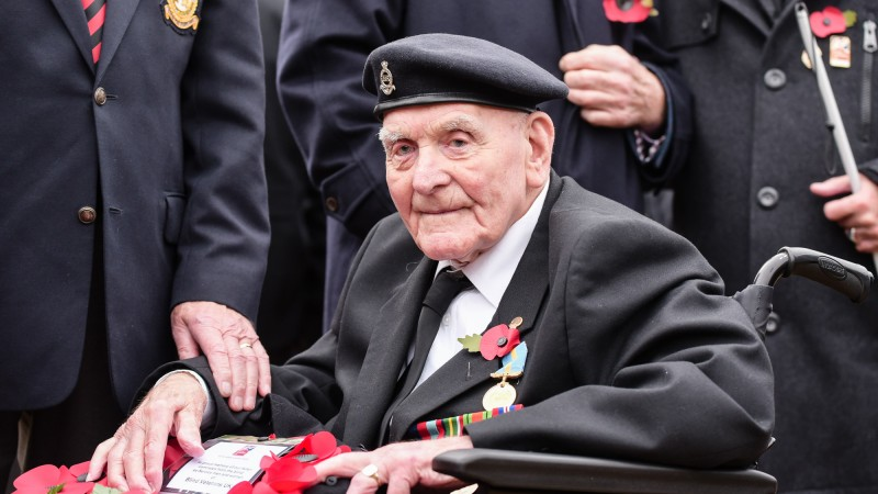 Ron Freer CREDIT Blind Veterans UK