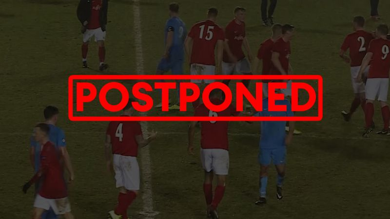 Postponed or Cancelled match