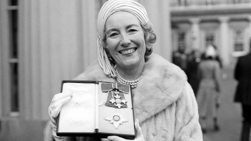 Singer Vera Lynn outside Buckingham Palace after being invested a Dame Commander of the British Empire 021275 CREDIT PA