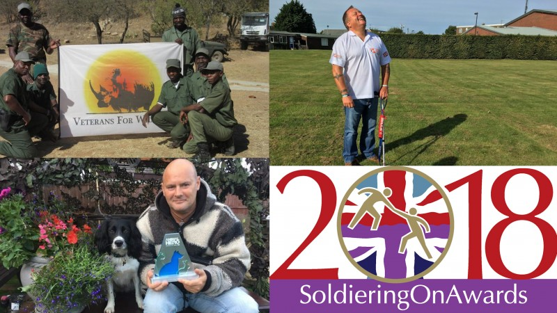 Soldiering On Awards Animal Partnership Award finalists