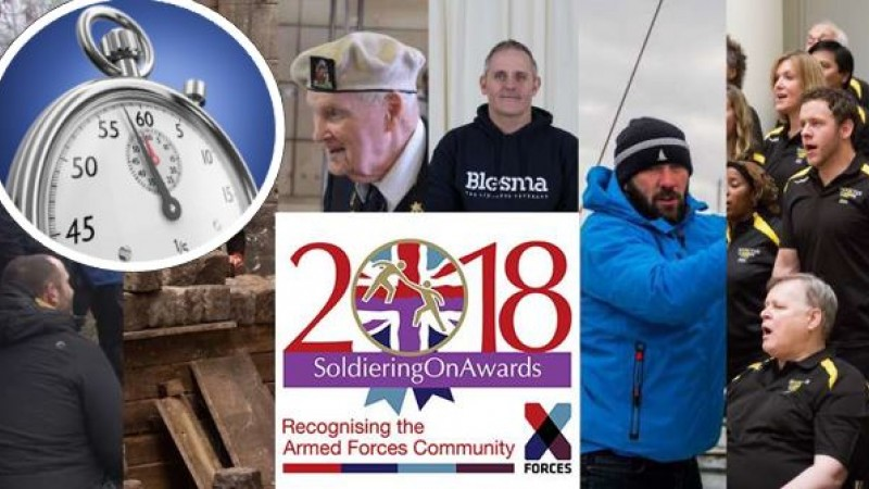 Soldiering On People's Choice Awards finalists 2018 countdown