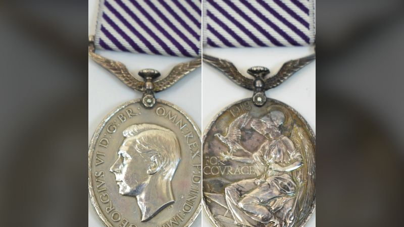 Stolen RAF medal unearthed at auction 20 years later 280820 CREDIT Sussex Police.jpg