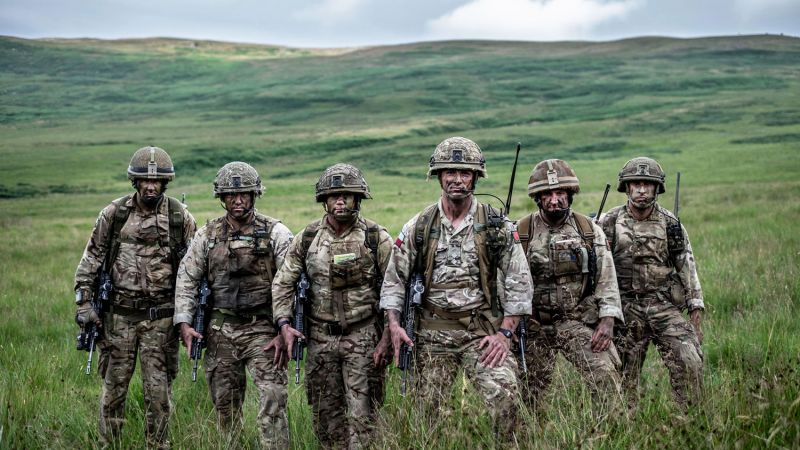 The Paras: Men Of War Elite Regiment ITV Three Part Series CREDIT ITV