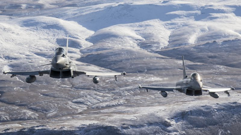 Could new technology make the Typhoon go even faster? (Picture: MOD).