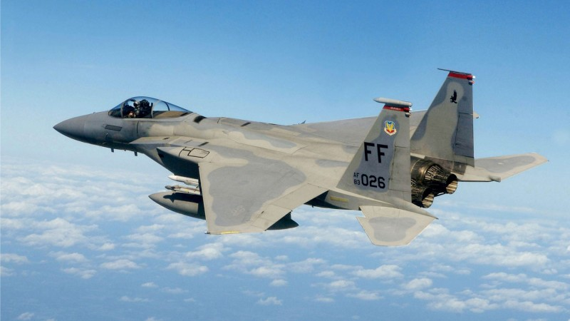 US Air Force F-15