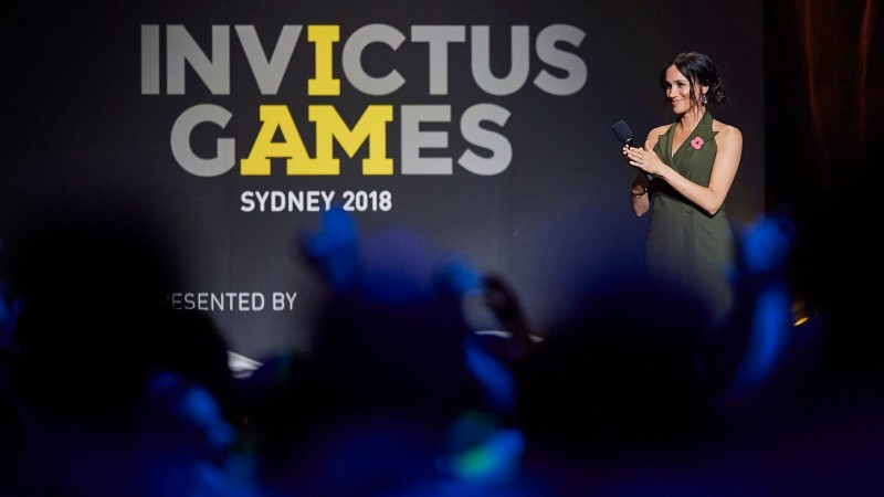 Meghan Praises 'Invictus Family' As Games Close