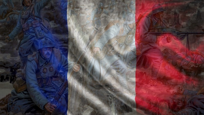 French tricolor