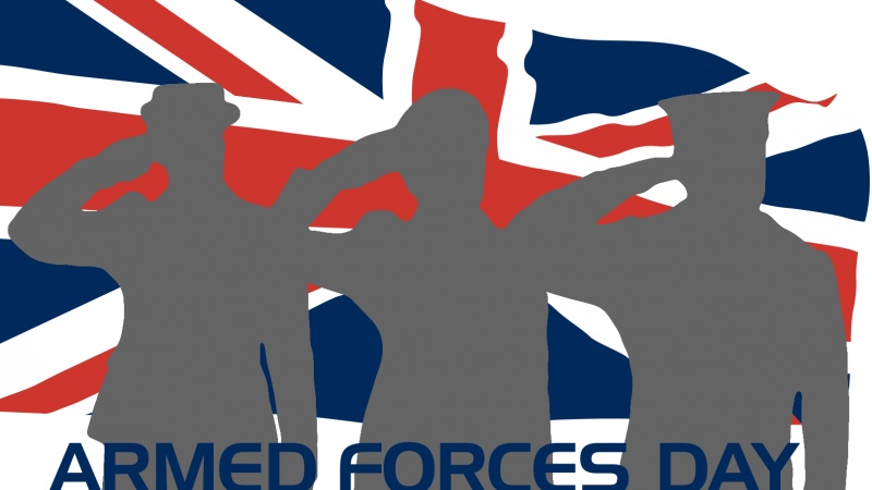 Armed Forces Day 2019. BFBS graphic.