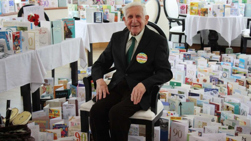 Care Home Escapee Veteran Receives 2,500 Birthday Cards