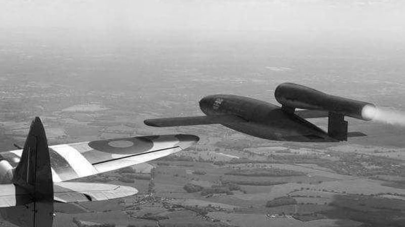 Did Spitfires Really Ram V1 Bombs Out Of The Sky?