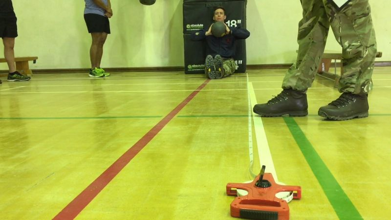 New Army Fitness Test Demonstrated In Cyprus