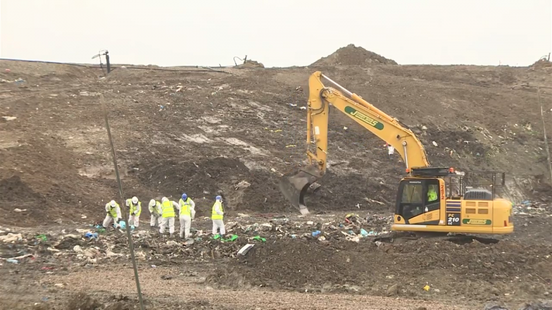 Landfill Search For Missing Corrie Resumes
