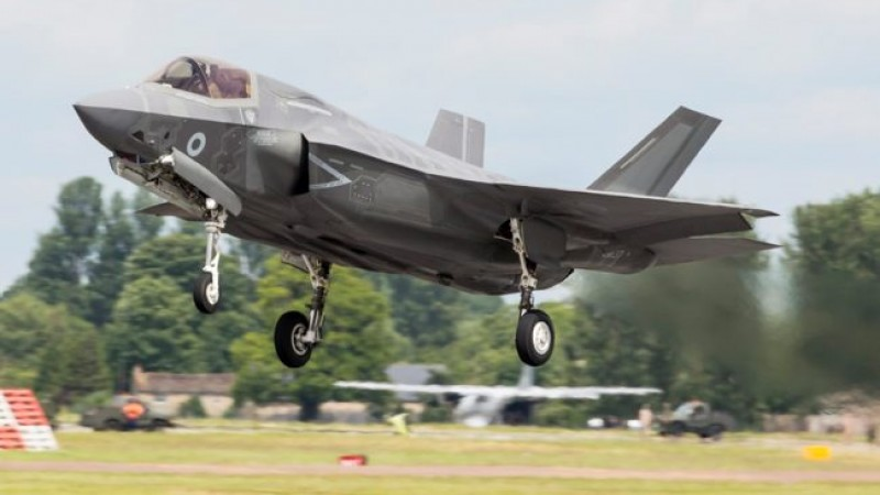 F35B (Picture: MOD).