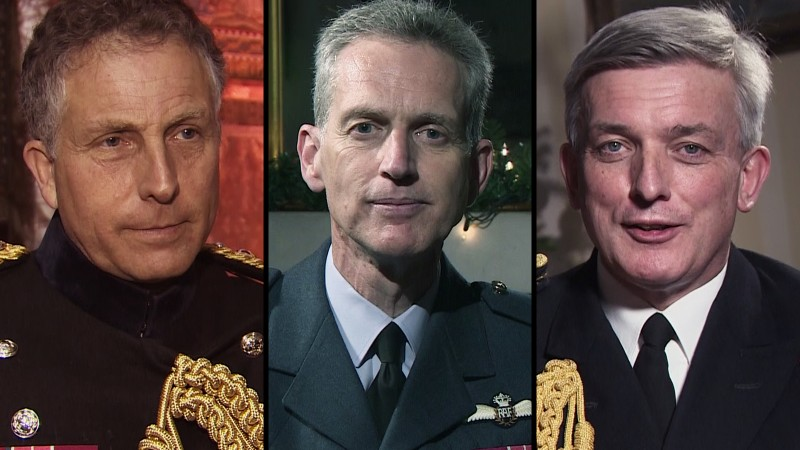 Armed Forces Heads' Christmas Messages