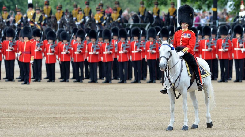 Household Division Prepare for The Queen's Birthday