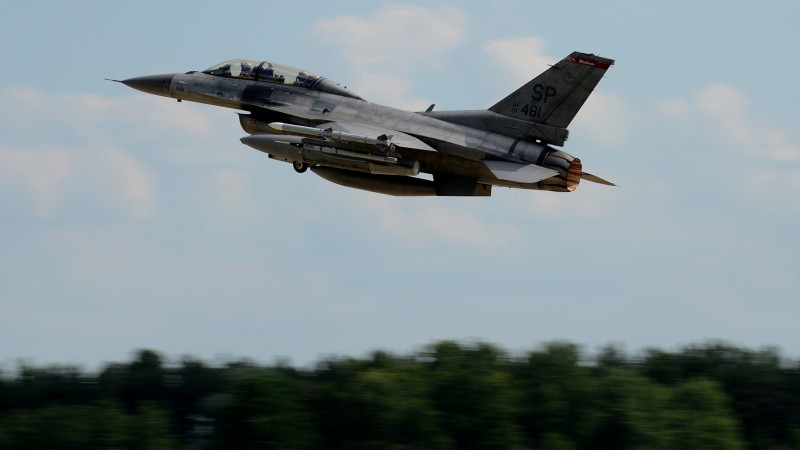 US F-16 fighter