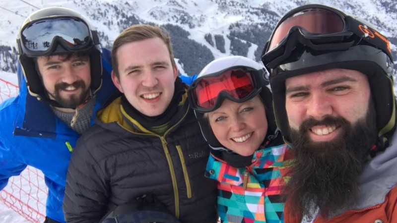 Meribel Forces Network team 2018